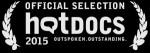 Winner, HotDocs 2015